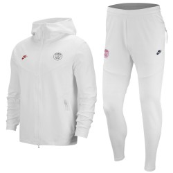 PSG UCL Tech Fleece presentation tracksuit 2019/20 white - Nike
