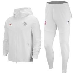 Tuta rappresentanza bianca PSG Tech Fleece UCL 2019/20 - Nike