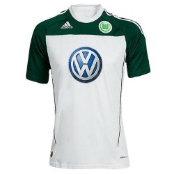 Wolfsburg Soccer Jersey 2010/11 Home by Adidas