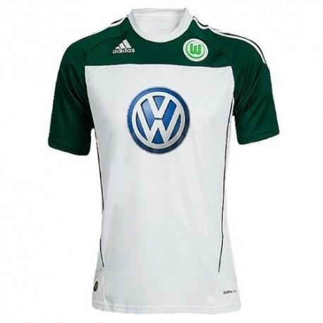 Maglia Calcio Wolfsburg 2010/11 Home by Adidas