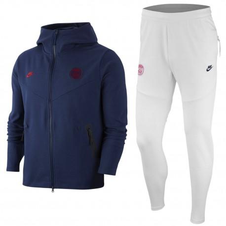 Buy PSG Tech Fleece navy/white