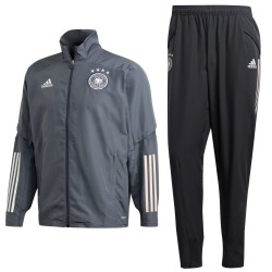 Germany football team grey presentation tracksuit 2020/21 - Adidas