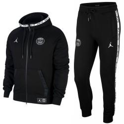 Jordan x PSG Casual Fleece präsentationsanzug 2019/20 schwarz - Jordan