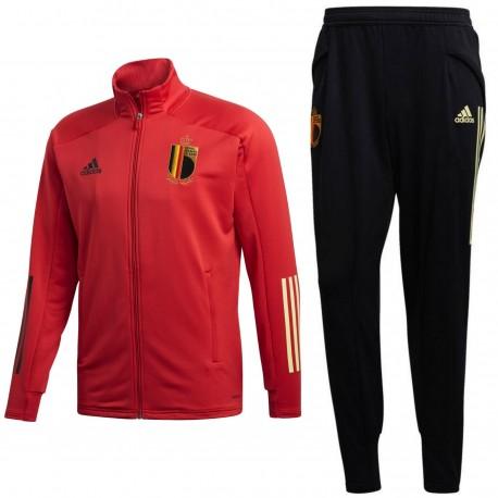 Belgium football team training bench tracksuit 2020/21 - Adidas