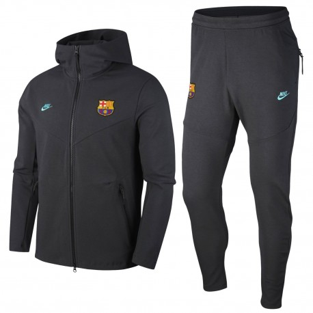 FC Barcelona UCL Tech Fleece presentation tracksuit 2019/20 - Nike