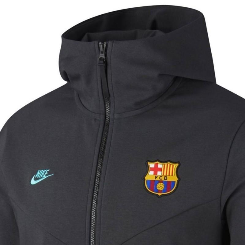 Veste de presentation FC Barcelona Tech Fleece UCL 201920