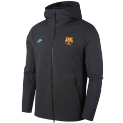 Giacca rappresentanza Barcellona Tech Fleece UCL 2019/20 - Nike