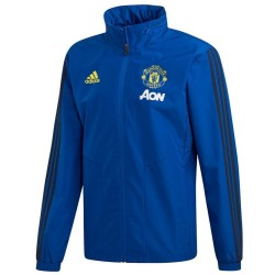 Manchester United blue training rain jacket 2019/20 - Adidas