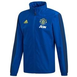 Manchester United technical regenjacke 2019/20 blau - Adidas