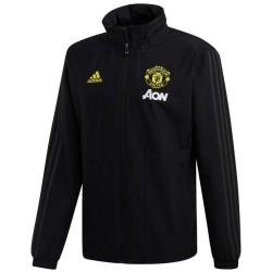 Veste coupe pluie d'entrainement Manchester United 2019/20 - Adidas