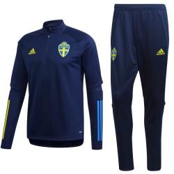 Tuta tecnica allenamento Nazionale Svezia 2020/21 - Adidas