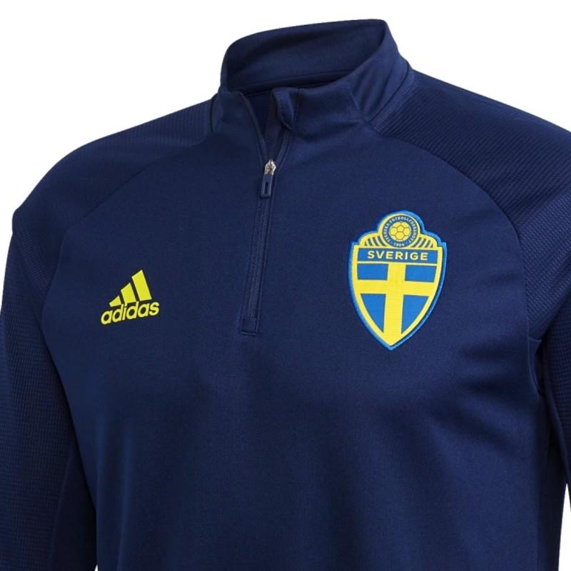Felpa tecnica allenamento Nazionale Svezia 202021 Adidas