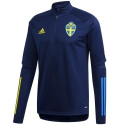 Sudadera tecnica entreno seleccion de Suecia 2020/21 - Adidas