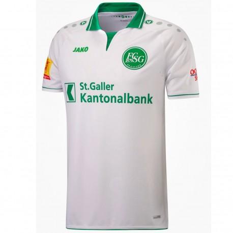 FC St. Gallen Away Football shirt 2018/19 - Jako
