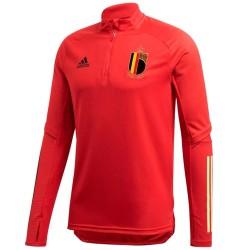 Tech sweat top d'entrainement Belgique 2020/21 - Adidas