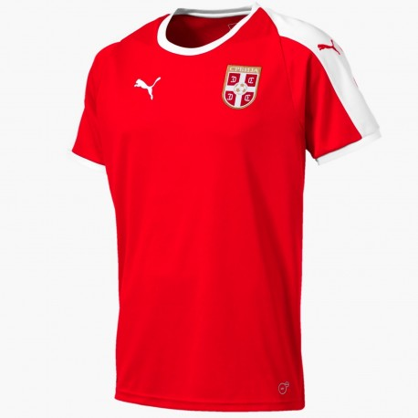 Serbia national team Home football shirt 2019 - Puma