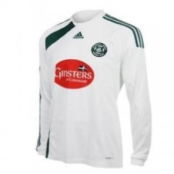 Plymouth Argyle FC Away maillot 09/11 Adidas-long sleeves