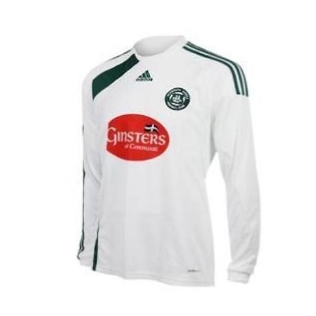 Maglia Plymouth Argyle FC Away 09/11 Adidas - Maniche Lunghe