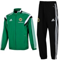 Northern Ireland green presentation tracksuit 2015/16 - Adidas