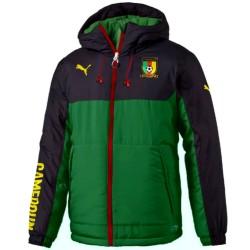 Cameroon training presentation padded bench jacket 2018/19 - Puma