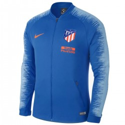 Veste de presentation Anthem Atletico Madrid 2018/19 bleu - Nike