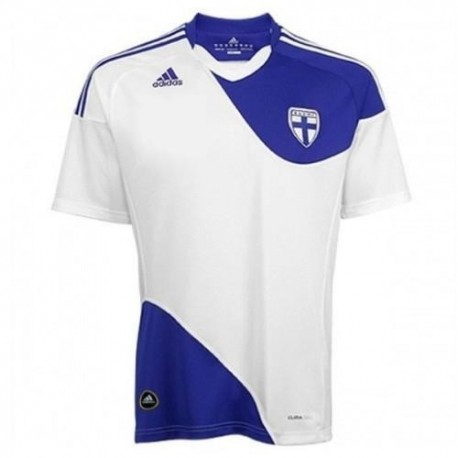 Finland National Jersey 2010/2012 Home Adidas