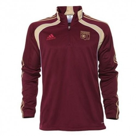 Training Sweatshirt 2010/12 Olympique Lyon von Adidas