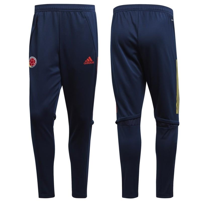 Pantalon de survêtement adidas Colombie 2020 Bleu marine