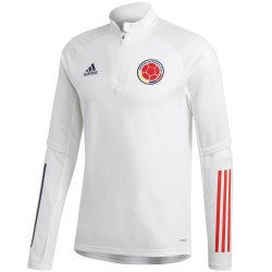 Tech sweat top d'entrainement Colombie 2020/21 - Adidas