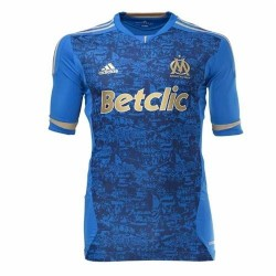 Olympique de Marseille Soccer Jersey Away 11/12 Player Issue Techfit - Adidas