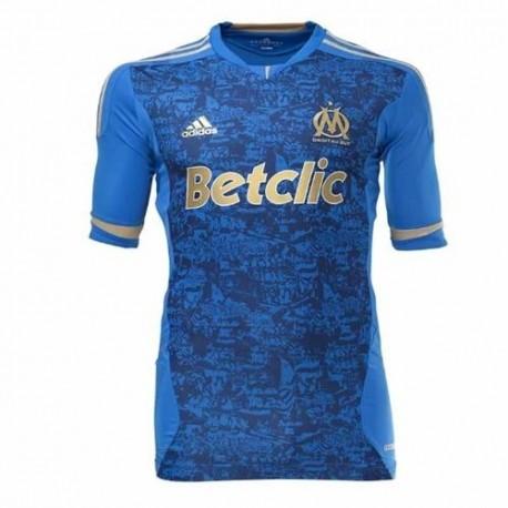 Olympique de Marsella Soccer Jersey Away 11/12 jugador número Techfit - Adidas