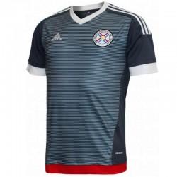 Segunda camiseta fútbol seleccion Paraguay 2015/16 - Adidas