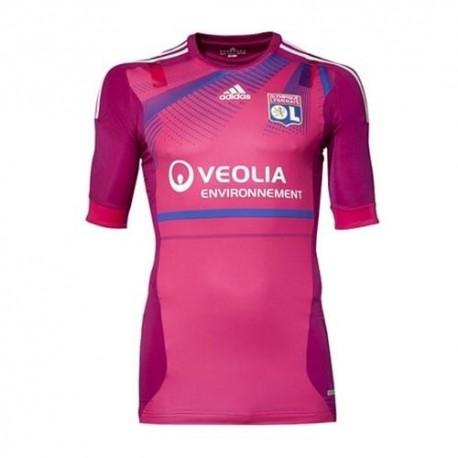 Maglia Olympique Lione (Lyon) Third 2011/12 Player Issue da gara by Adidas