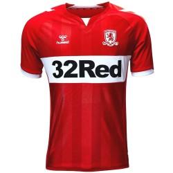 Maglia calcio Middlesbrough FC Home 2018/19 - Hummel