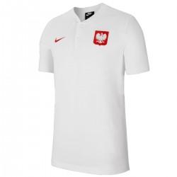 Polo presentación seleccion Polonia Grand Slam 2020/21 blanco - Nike
