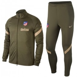 Atletico Madrid green training presentation tracksuit 2020/21 - Nike