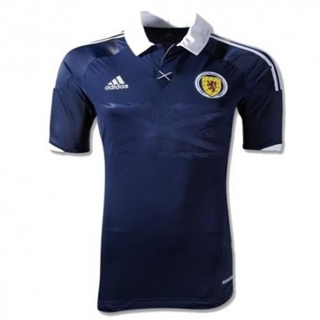 Schottland National Trikot Home/14 2012 Player Issue Rennen Adidas Techfit
