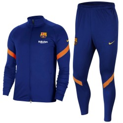 Survetement de presentation FC Barcelone 2020/21 bleu - Nike