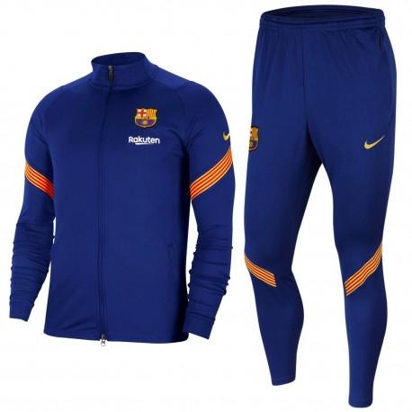 FC Barcelona navy training presentation tracksuit 2020/21 - Nike