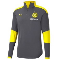 Borussia Dortmund grey training technical sweatshirt 2020/21 - Puma