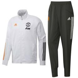 Manchester United presentation tracksuit 2020/21 - Adidas