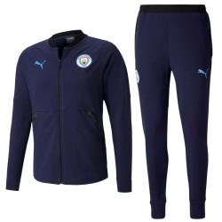 Tuta da rappresentanza casual blu Manchester City 2020/21 - Puma