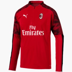 AC Milan red training technical sweatshirt 2019/20 - Puma
