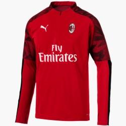 Felpa tecnica allenamento rossa AC Milan 2019/20 - Puma