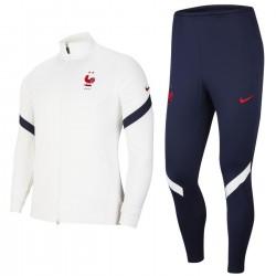 Frankreich Fussball präsentation Trainingsanzug 2020/21 - Nike