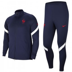 France football navy training presentation tracksuit 2020/21 - Nike