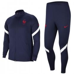 Survetement d'entrainement/presentation France 2020/21 bleu - Nike