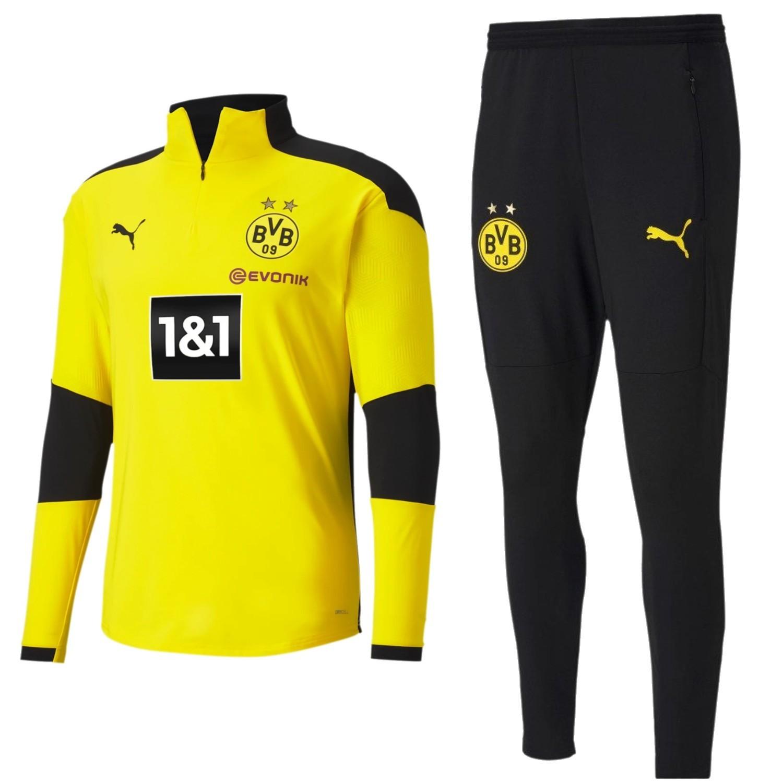 Borussia Dortmund Training Technical Tracksuit 2020 21 Puma Sportingplus Net