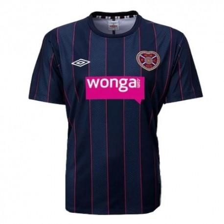 Heart of Midlothian FC shirt Away Umbro 2011/12-