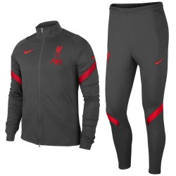 Liverpool FC dark grey training presentation tracksuit 2020/21 - Nike
